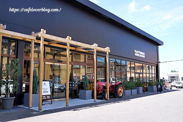 フラットホワイトコーヒーファクトリー郡山店◇外観