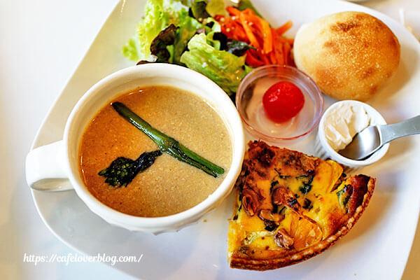 おいしいハーブティーとスープのお店 葉の園(Hanoen)◇キッシュプレート