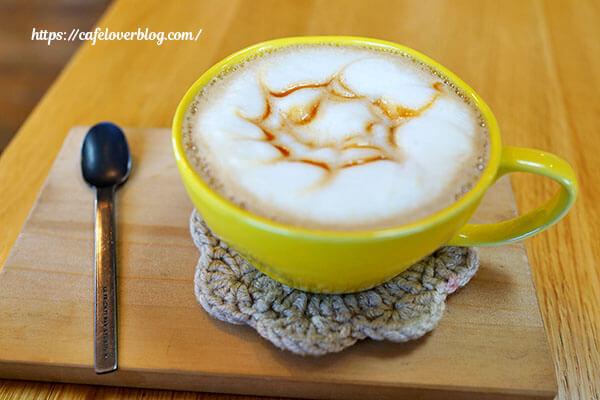CAKE+COFFEE つくる。◇キャラメルラテ