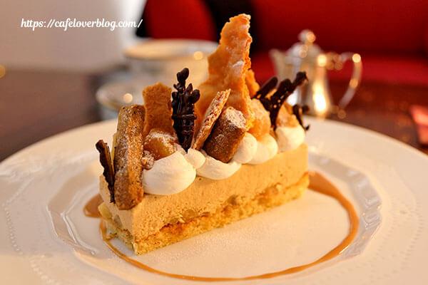 Lamp Cafe◇キャラメルリンゴと紅茶のムース(2013.12)