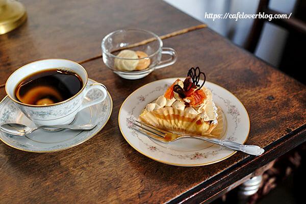 Lamp Cafe◇あんずのキャラメルチーズタルトとコスタリカ(2016.1)