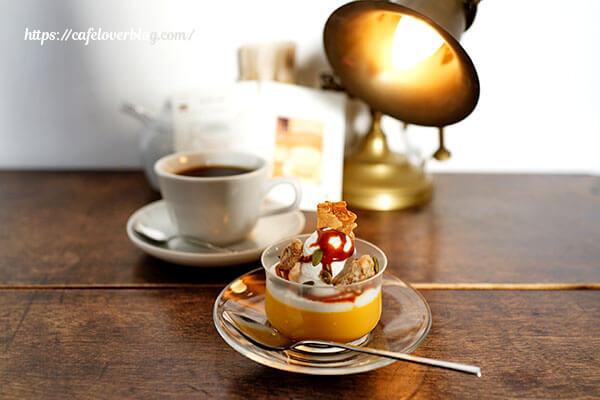 Lamp Cafe◇かぼちゃプリンとブラジル(2019.12)