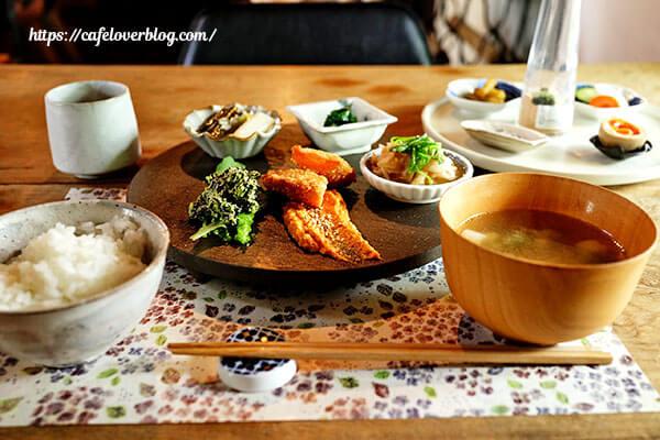 農園の手紙舎◇季節の野菜の定食