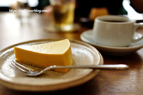 パーラートチギ◇マンゴーチーズケーキと本日の珈琲