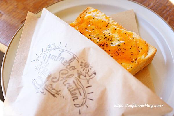 ウミネコ商店◇厚切りチーズトースト(モーニング限定)