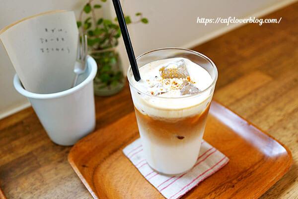 cafe days◇塩キャラメルラテ(アイス)
