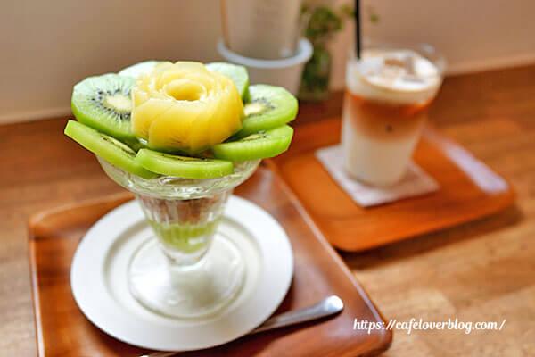 cafe days◇キウイのパフェ