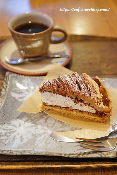うつわ&カフェ かくしち◇モンブランとブレンドコーヒー
