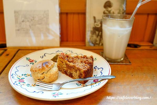 CAFE 2008◇スコーンといちじくクランブル