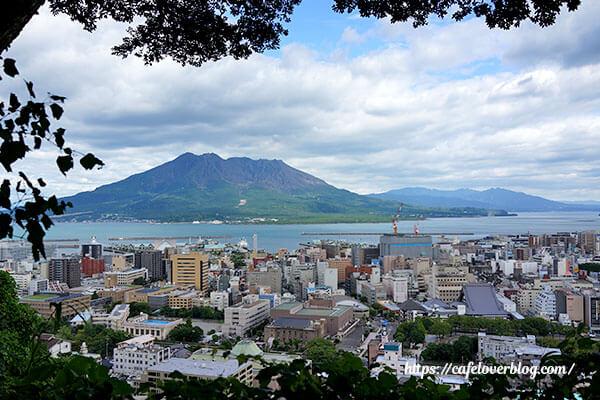 城山公園展望台からの眺め