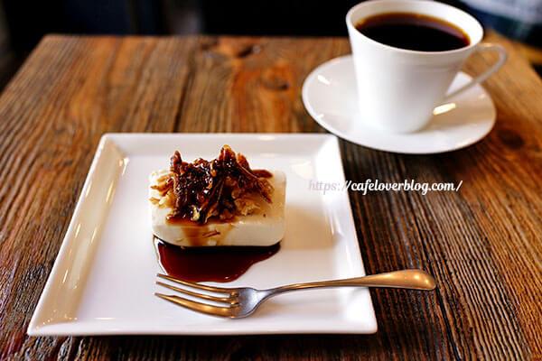 AMBER DROP COFFEE ROASTERS◇ゴルゴンゾーラのレアチーズとニカラグア
