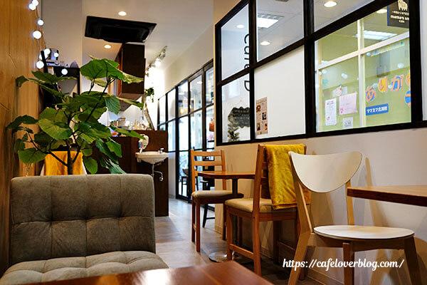 Cafe D+◇店内