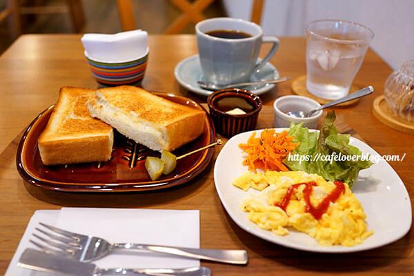 café Nicole◇トースト(スクランブルエッグ付き)