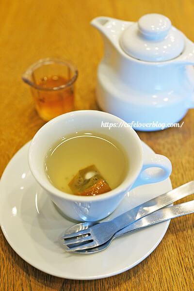 発酵カフェ こじか食堂◇季節の酵素ドリンク(お湯割り)