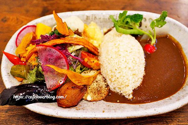 Cafe mikumari◇デミグラスカレープレート