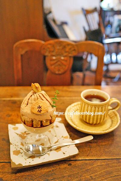 Cafe mikumari◇parfait brun mikumari / 紅茶