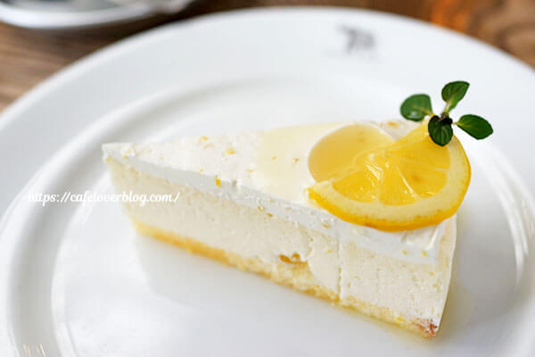 NASU SHOZO CAFE◇レモンの白いチーズケーキ