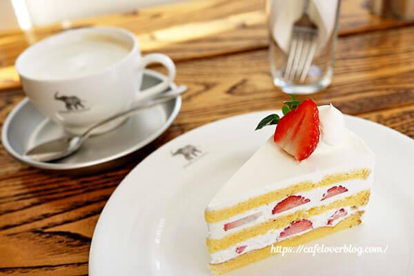 NASU SHOZO CAFE◇苺のショートケーキ