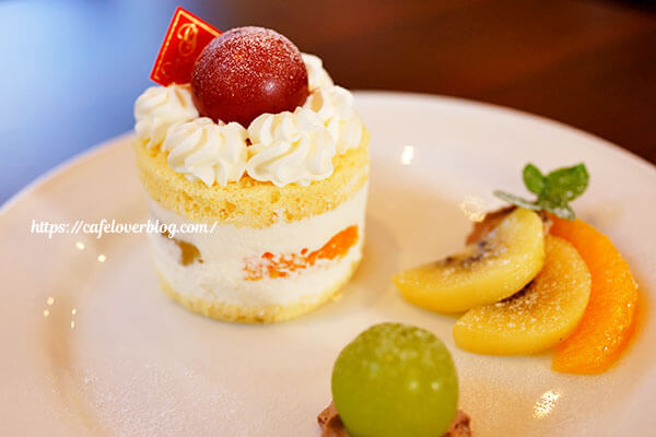 ORANGE PEKOE◇フルーツのショートケーキ