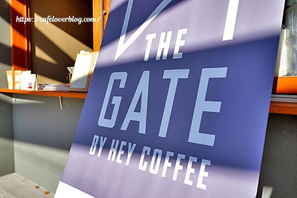THE GATE BY HEYCOFFEE◇店頭幕