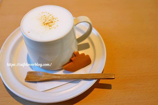 cafe uminoie◇はちみつジンジャーラテ