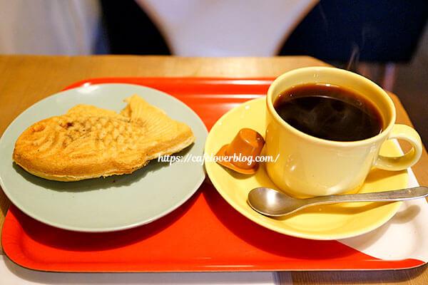 コーヒーとタイヤキのカラク◇タイヤキセット