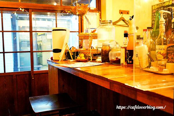 Eggcafe Amber◇店内