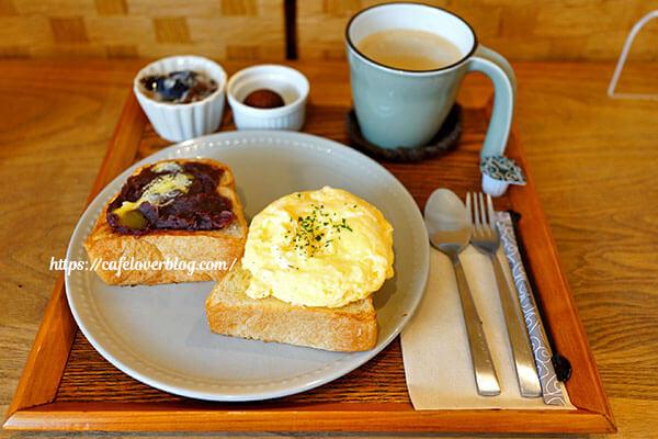 喫茶と美容室 茶の間◇トーストセット