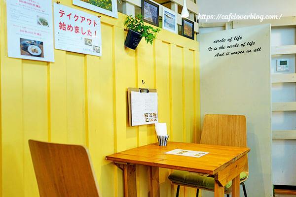 cafe nicai◇店内