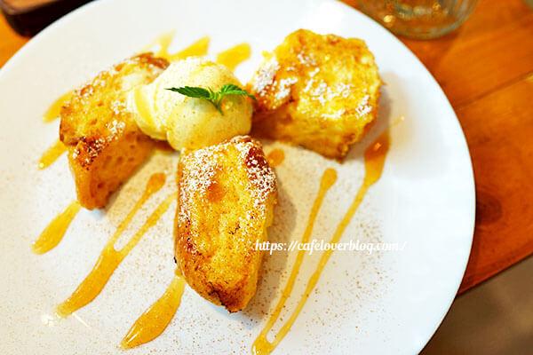 cafe nicai◇フレンチトースト(メープルシナモン)