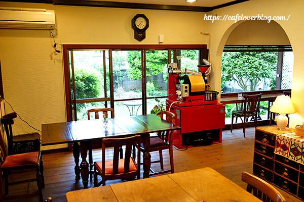 カフェ&ギャラリー空想庭園◇店内