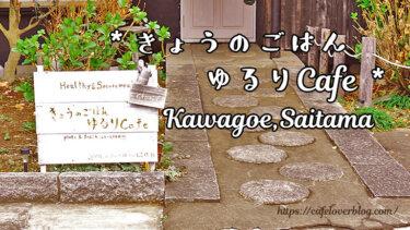きょうのごはん ゆるりCafe / 埼玉県川越市 ◇ 彩り豊かなランチプレート
