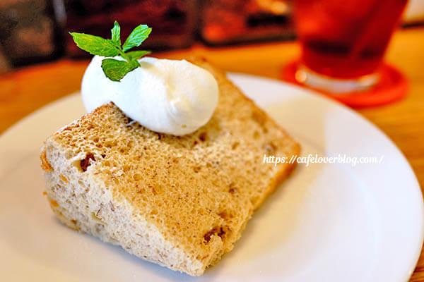 cafe Fuu◇バナナシフォンケーキ