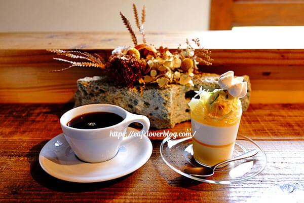 ISLAND STONE COFFEE ROASTERS◇ベルガモットとベルベーヌのヴェリーヌ / 本日のコーヒー